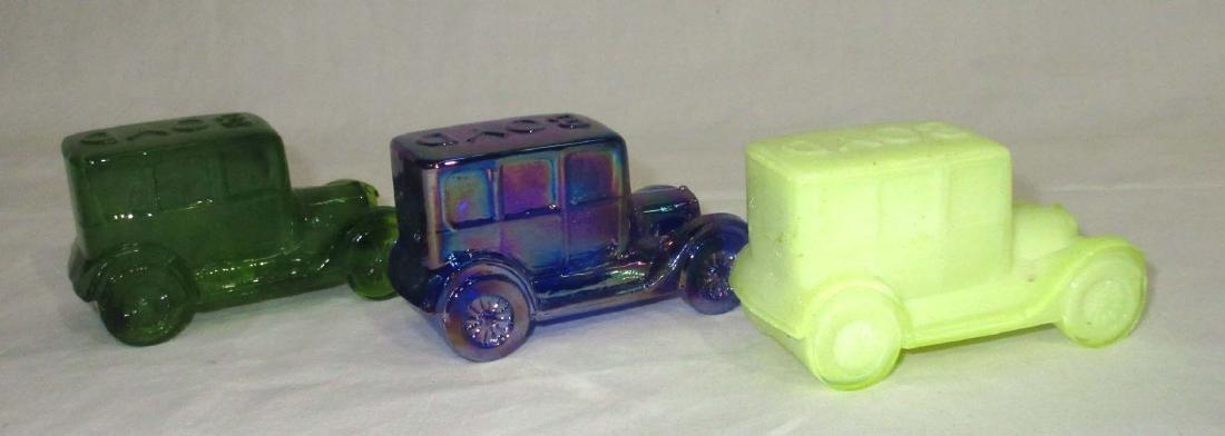 3 Boyd Glass Cars