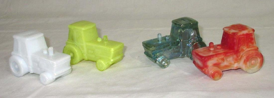 4 Boyd Glass Tractors