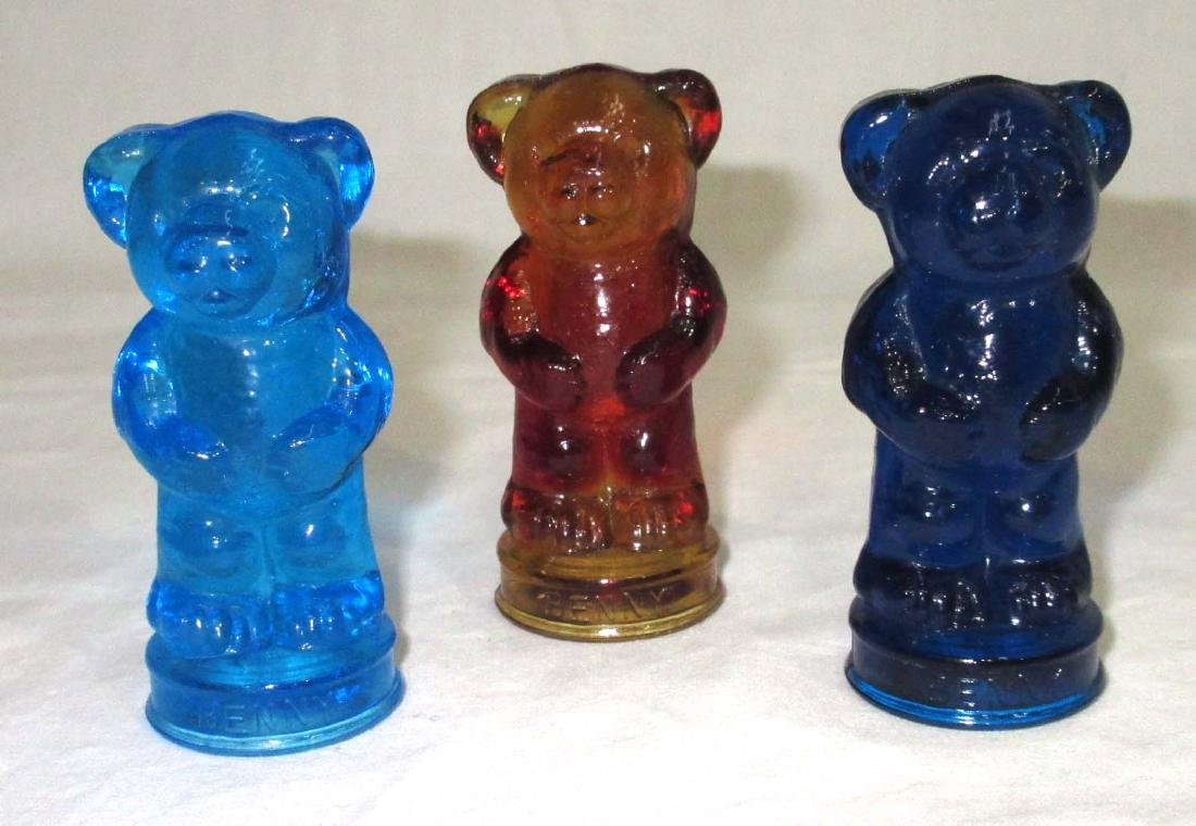 3 Boyd Glass Bears