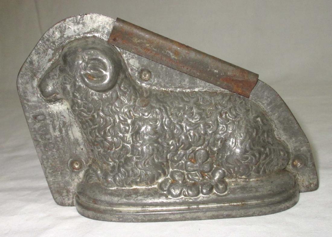 Tin Ram Chocolate Mold