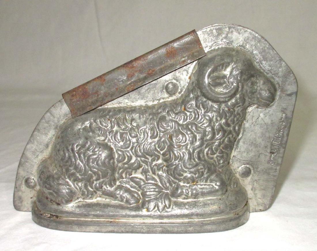 Tin Ram Chocolate Mold - 2