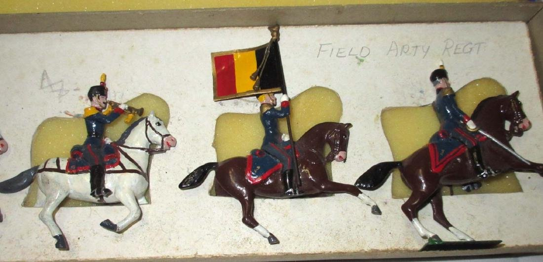 Lot of 5 Lead Soldiers Cavalrymen - 3