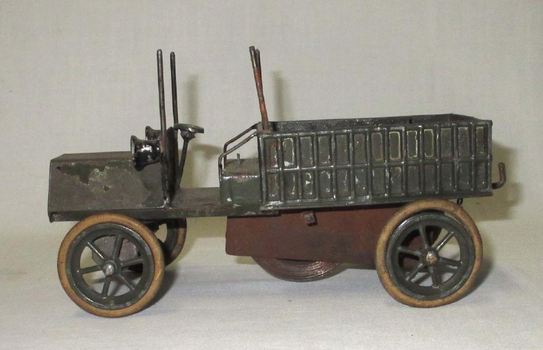 Tin & Lead Keywind Army Truck
