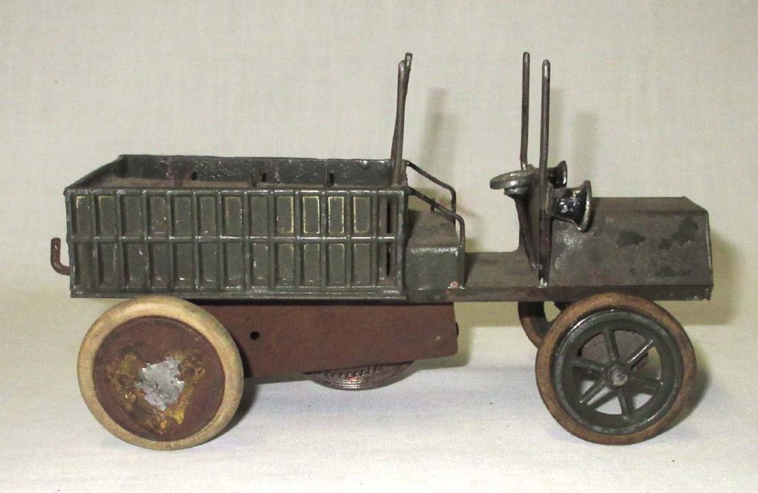 Tin & Lead Keywind Army Truck - 2
