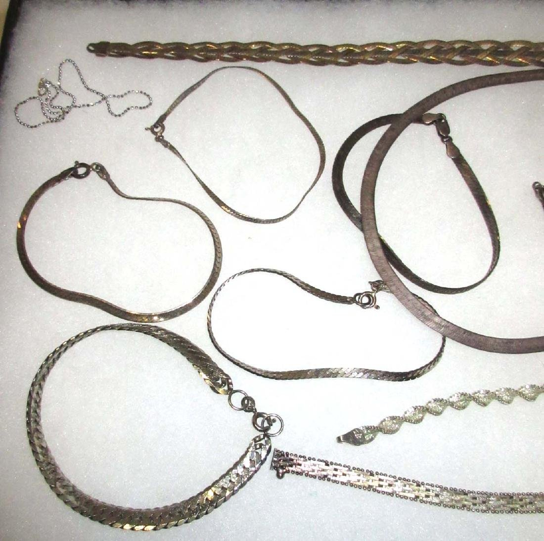 "12pc. ""STERLIING"" Silver Jewelry Collection - 2"