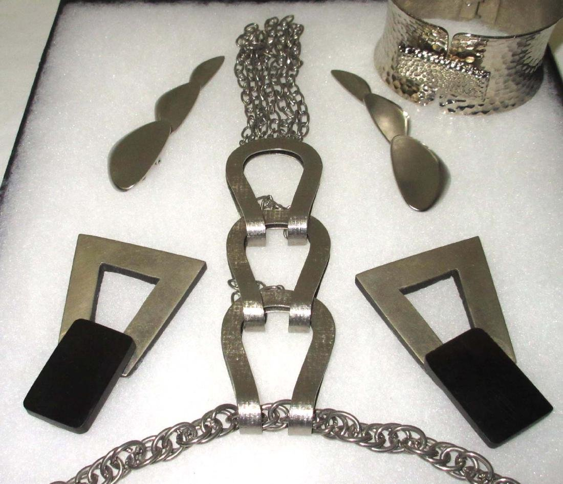 Interesting 6pc. Industrial Style Jewelry Collection - 3