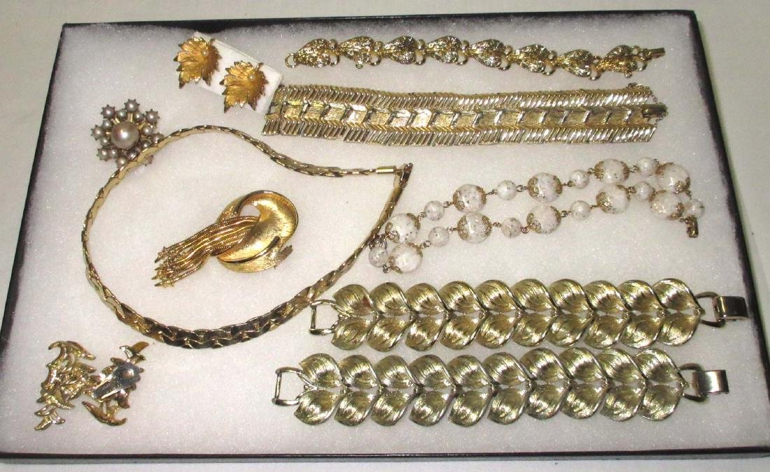 "10pc. Goldtone ""Coro"" Jewelry Collection"