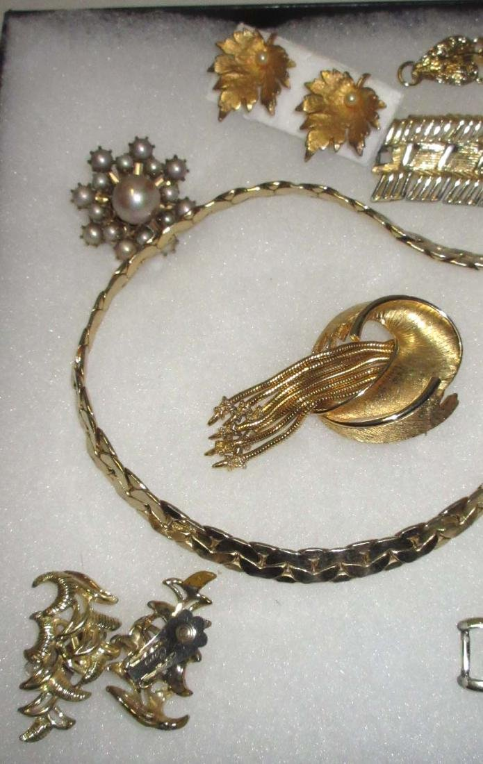 "10pc. Goldtone ""Coro"" Jewelry Collection - 3"