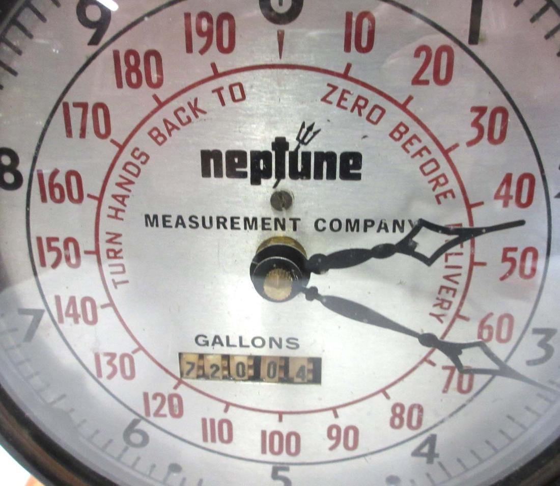 Neptune Gas Gauge Clock - 2