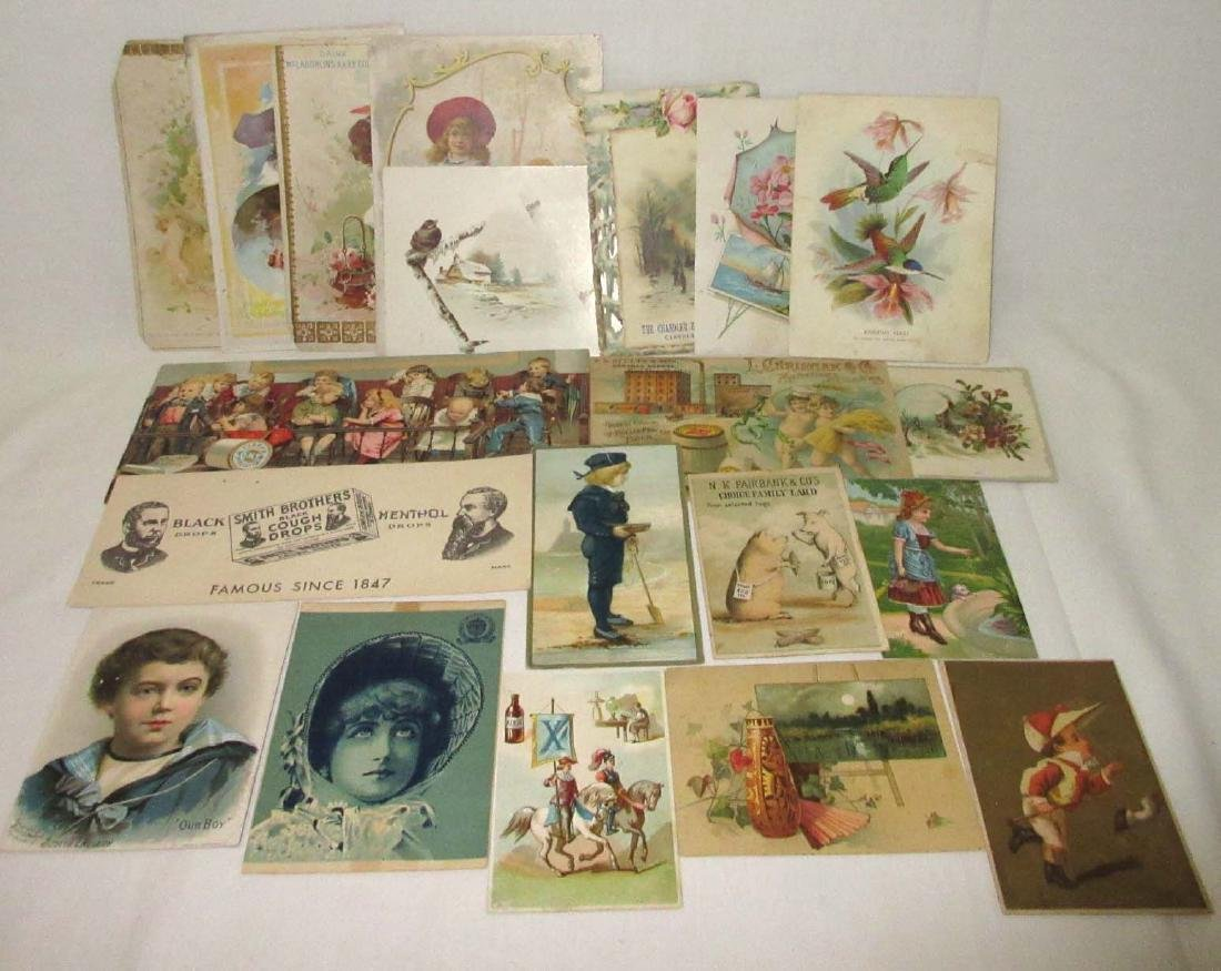 20 Victorian Trade Cards