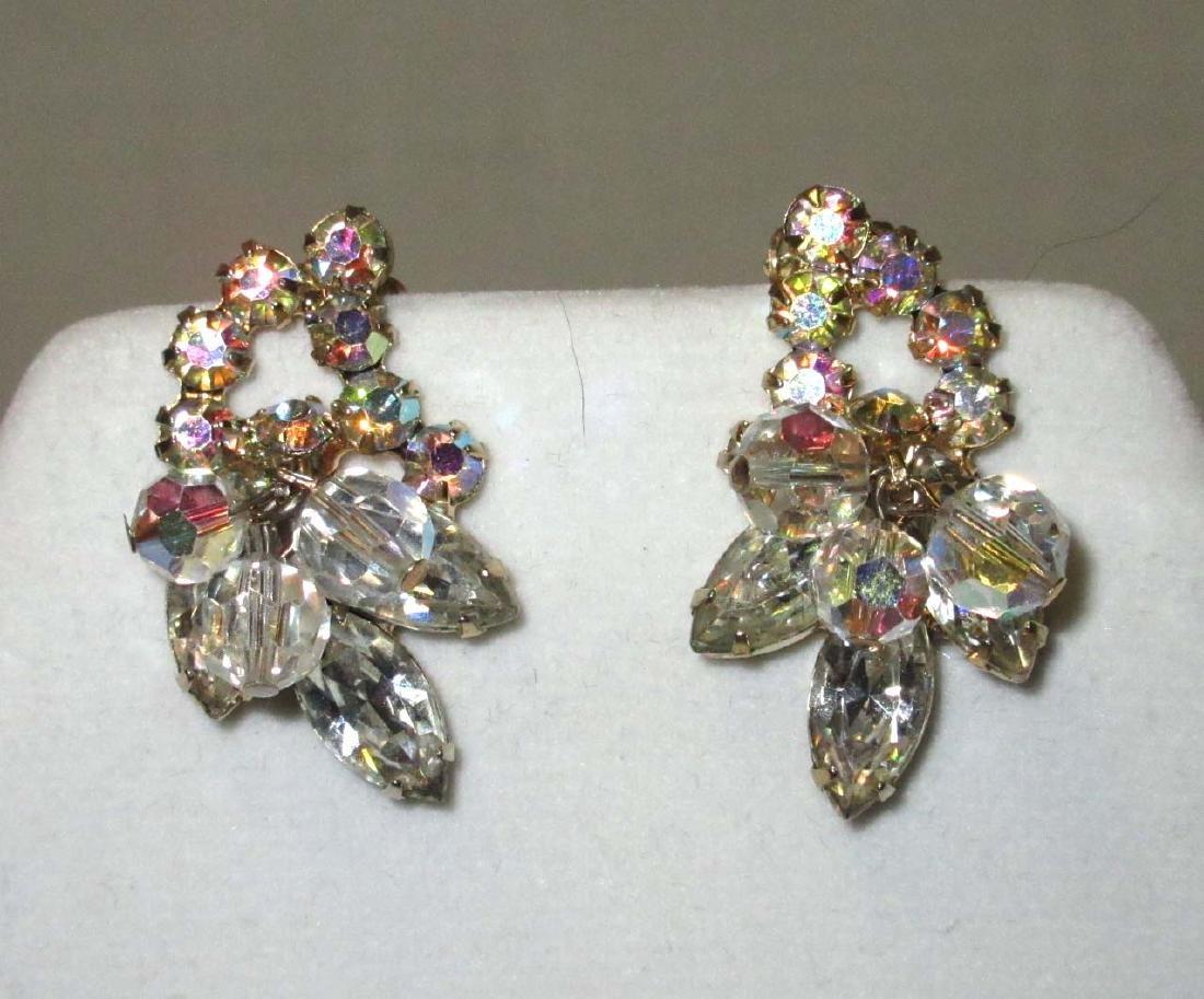 "Pair of ""JULIANA"" Crystal Bead Earrings"