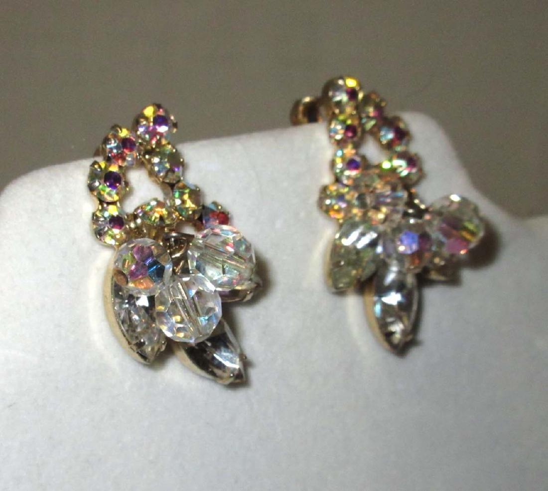 "Pair of ""JULIANA"" Crystal Bead Earrings - 2"