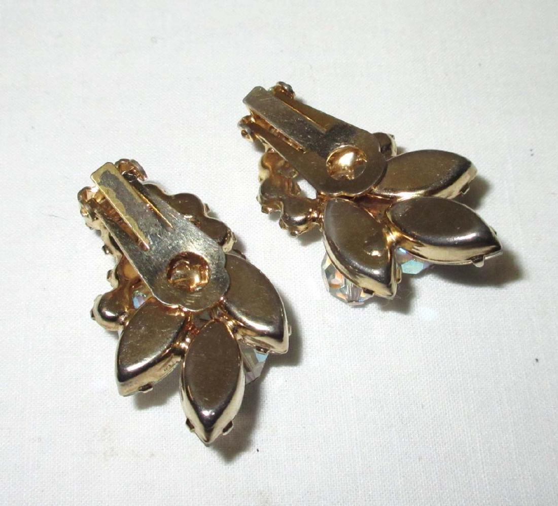 "Pair of ""JULIANA"" Crystal Bead Earrings - 3"