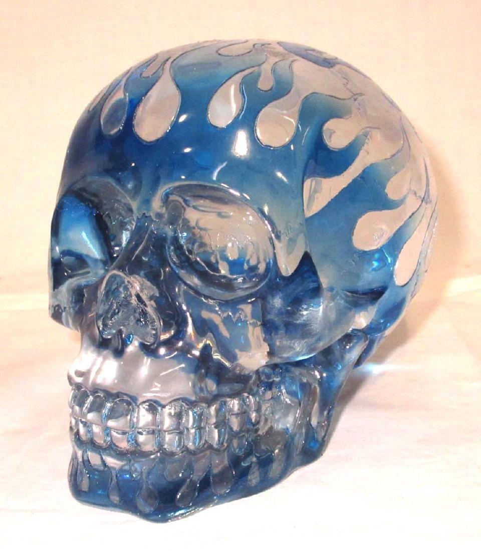 Modern Lucite Skull