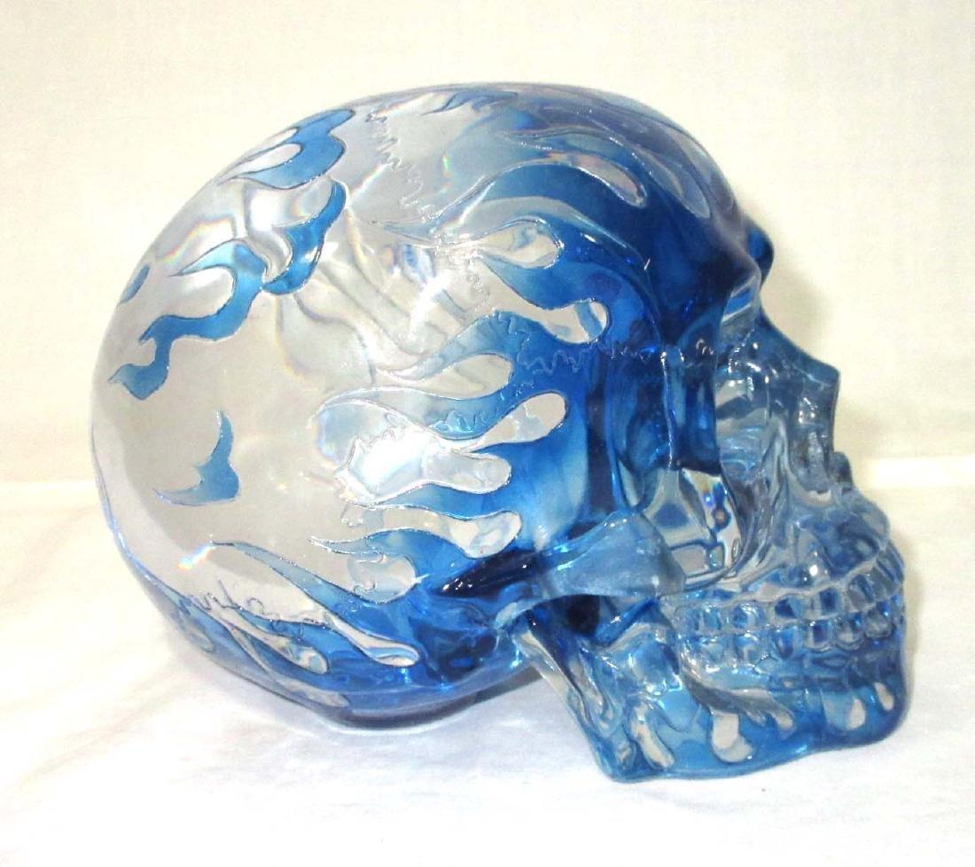Modern Lucite Skull - 2
