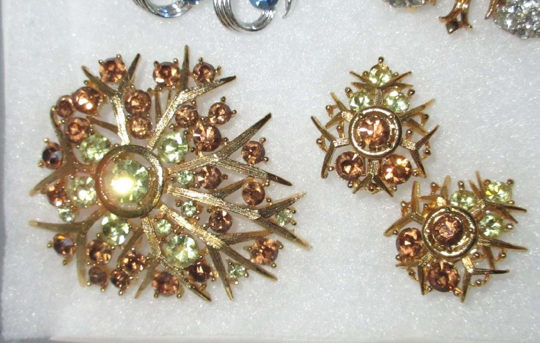 """Lisner"" 6pc. Striking Rhinestone Jewelry - 2"
