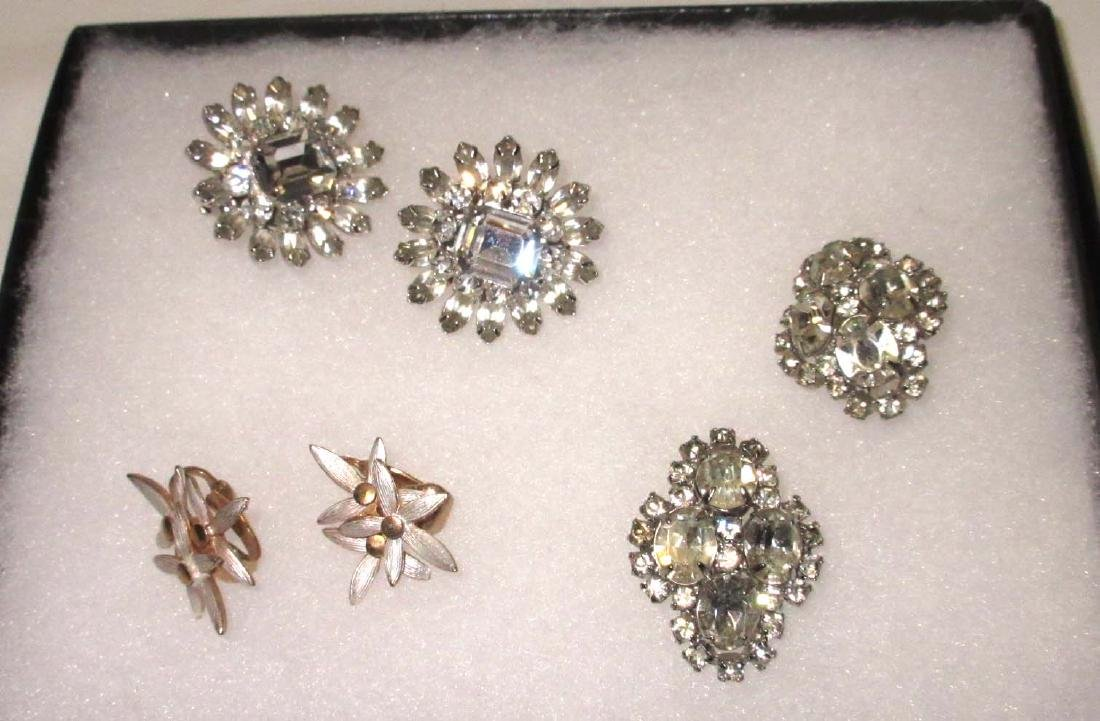 """""""Krammer"""" 3pc Earrings"""
