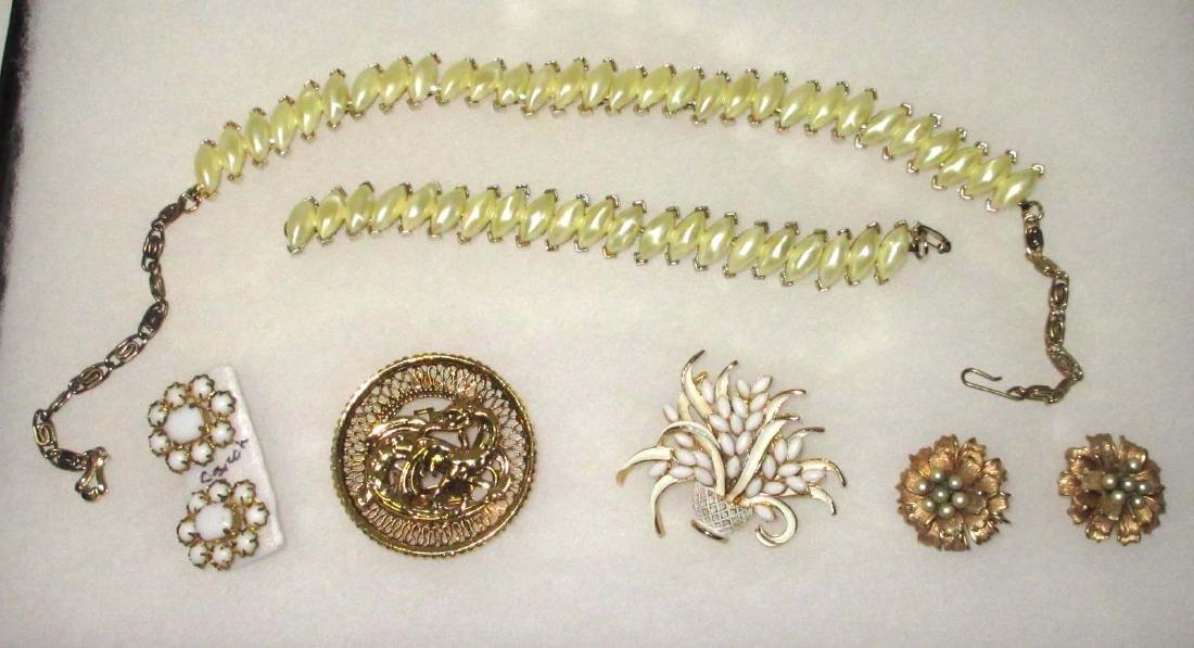 Art, Star, Marvella, Czechoslovakia 6pc Jewelry