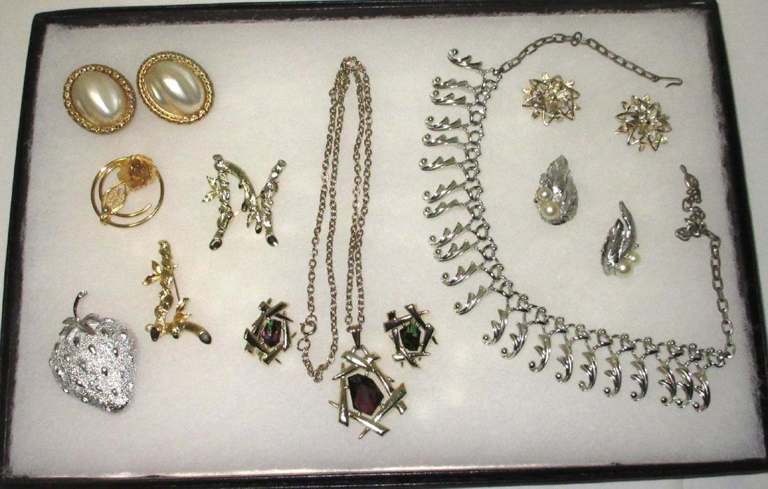 Identified Sarah Coventry 10pc. Jewelry Coll.