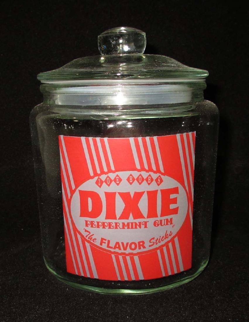 """Modern """"Dixie Gum"""" Jar"""
