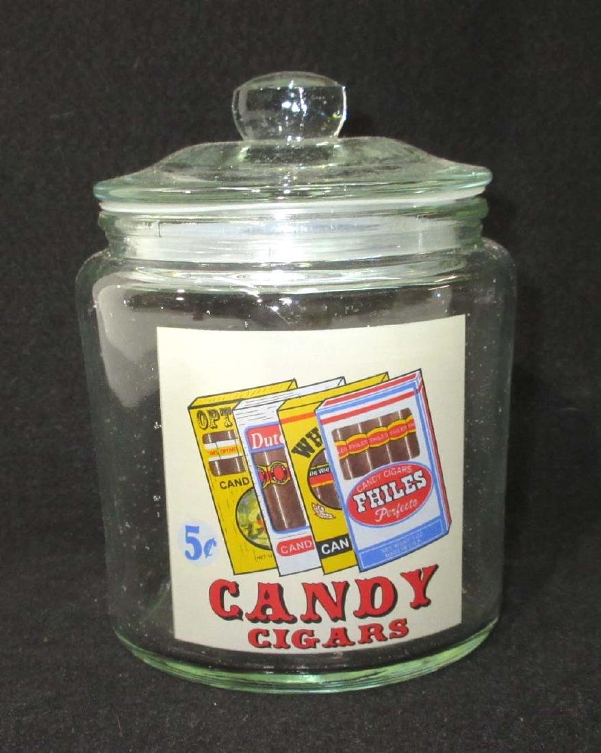 Modern Candy Cigars Jar