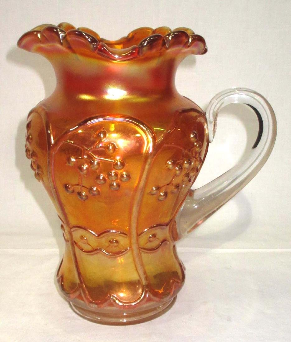 Carnival Glass Water Pitcher