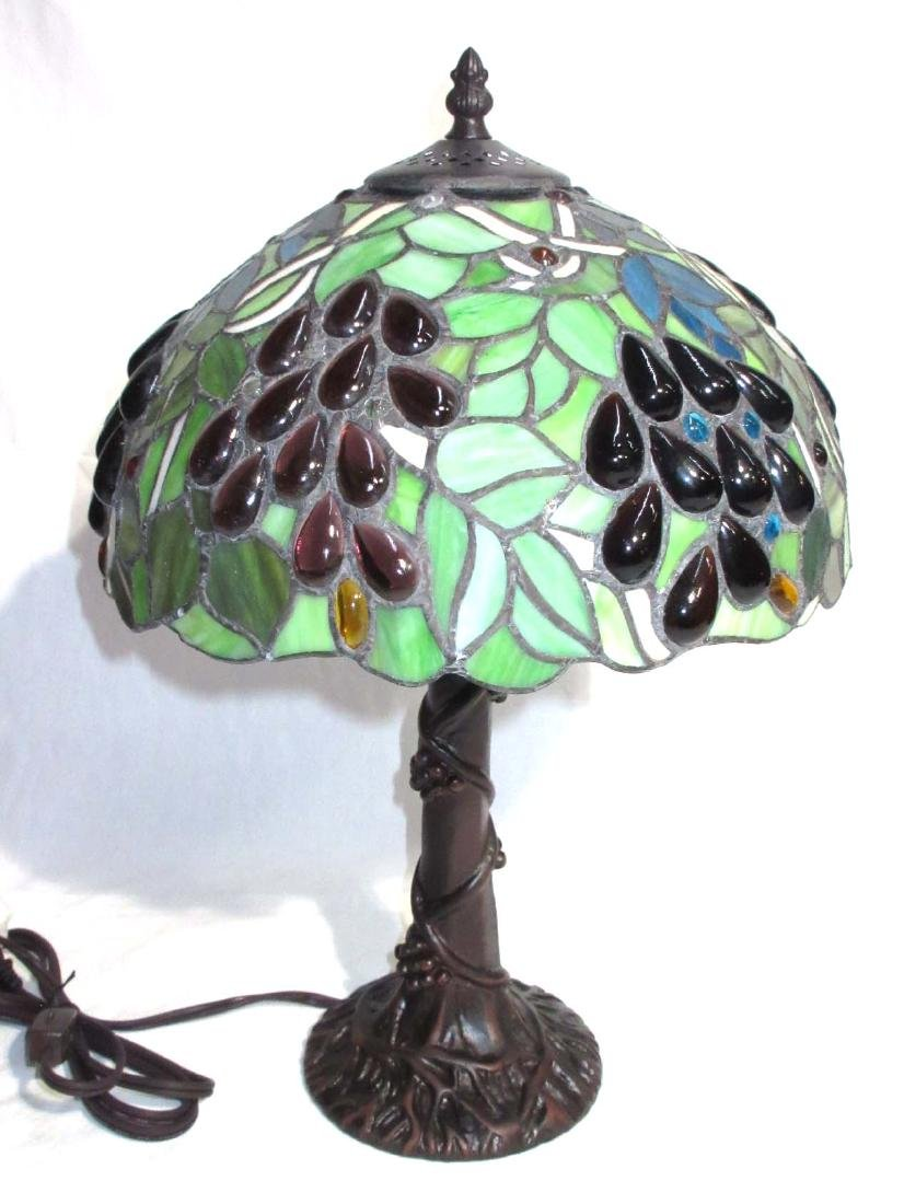 Modern Leaded Glass Lamp - 2