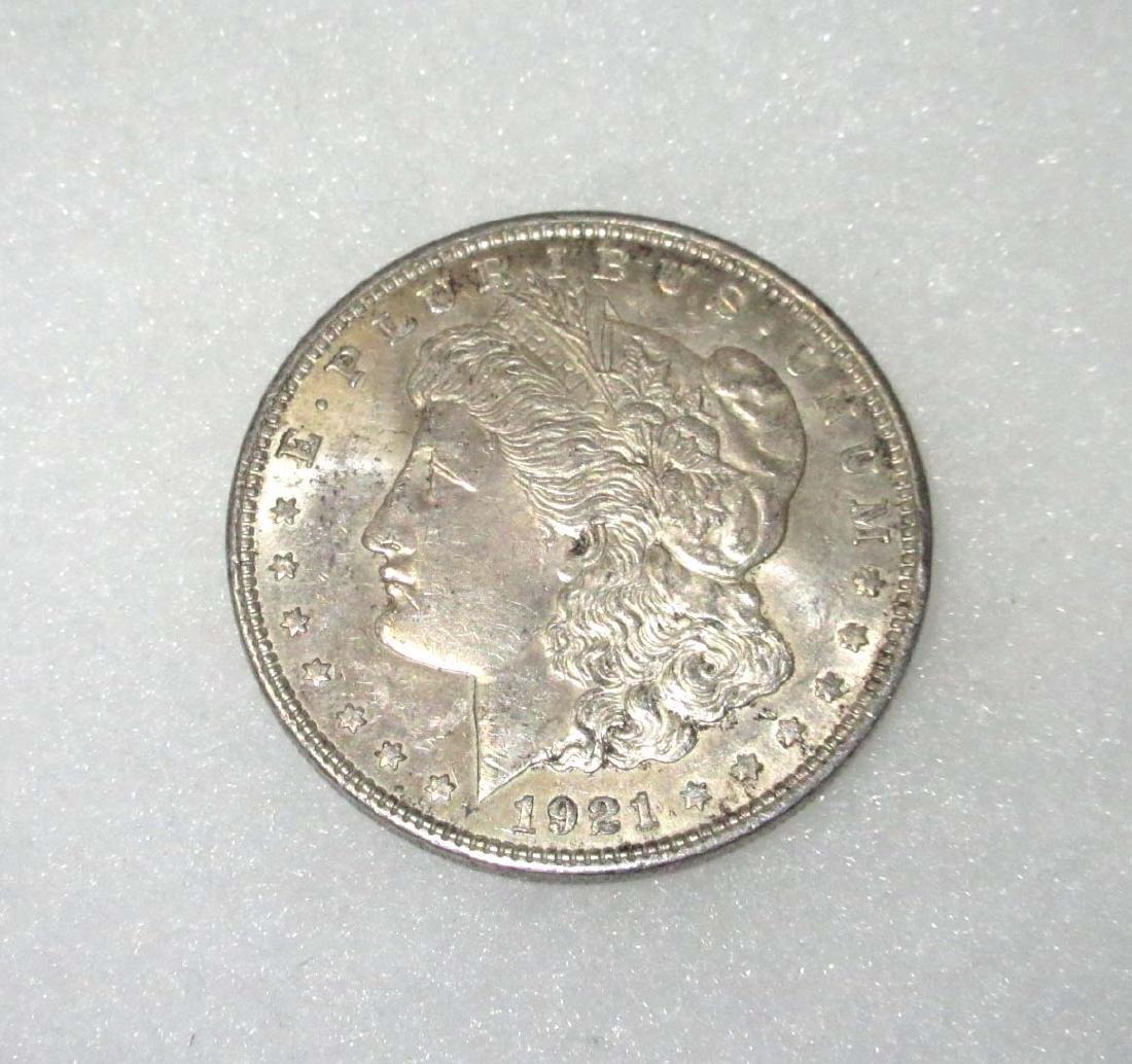 1921 US Silver Dollar