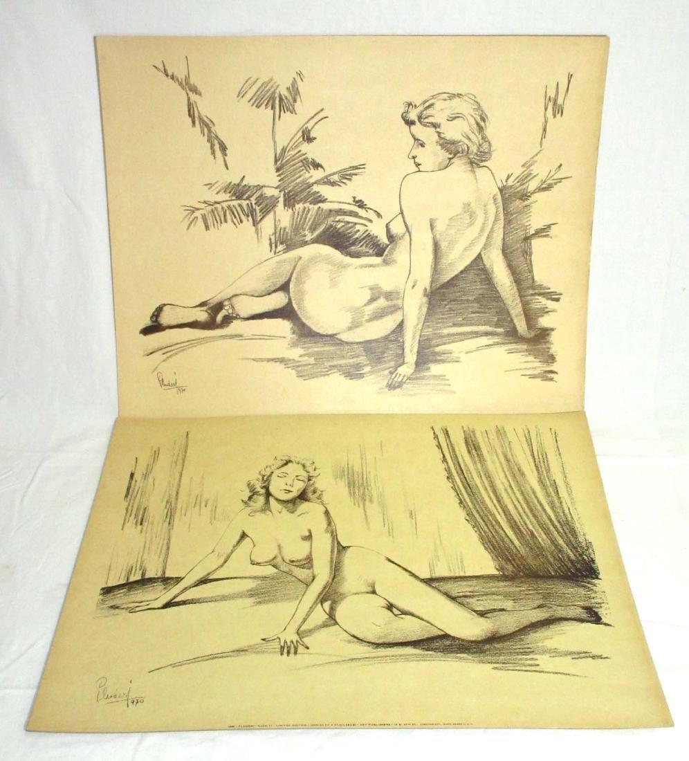 2 Pluderi Nude Prints