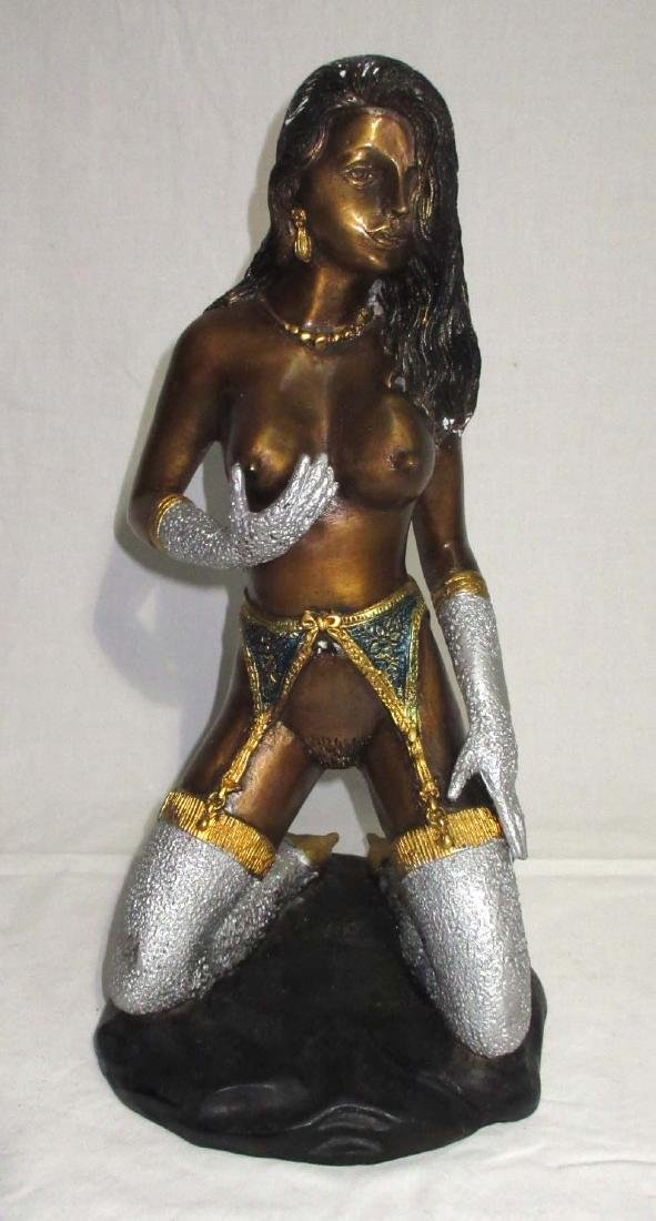 Bronze Nude Lady