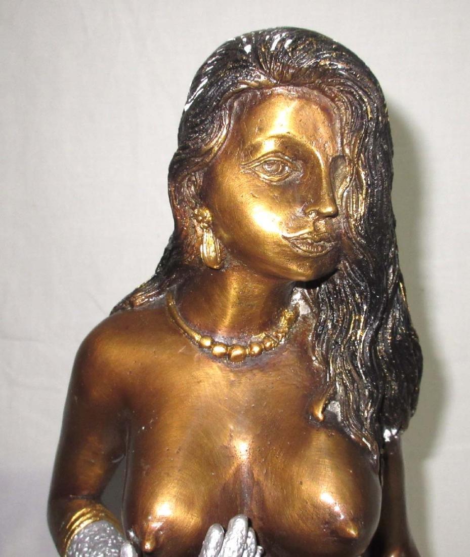 Bronze Nude Lady - 2