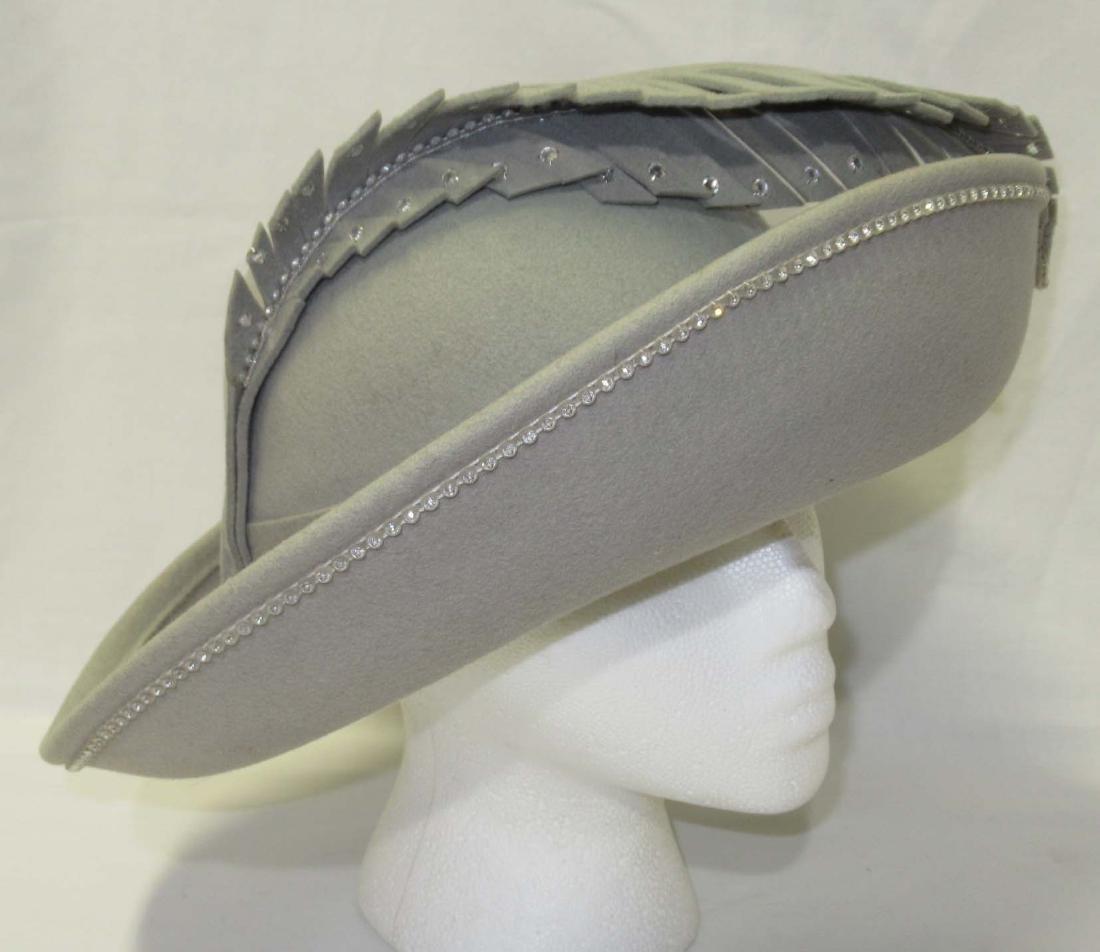 Fabulous Jack McConnell Wool Rhinestone Studded Hat