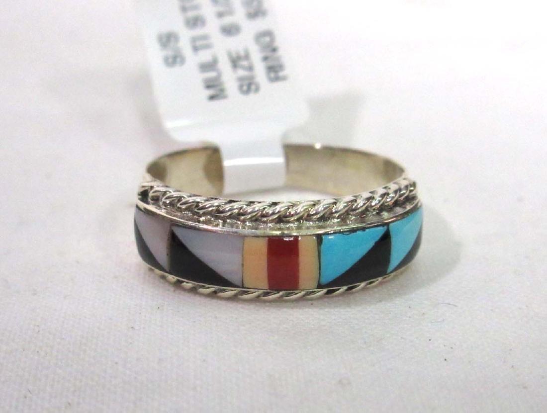 Sterling Zuni Ring