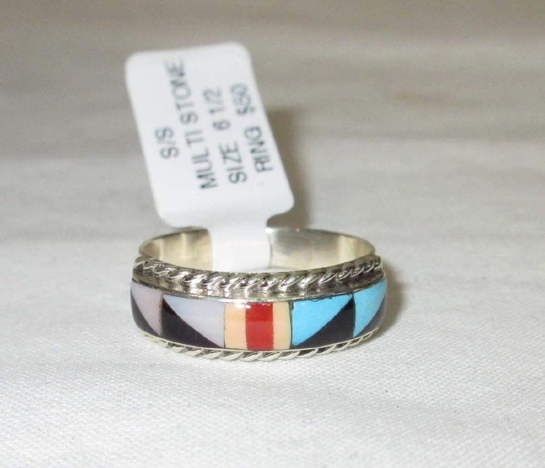 Sterling Zuni Ring - 2