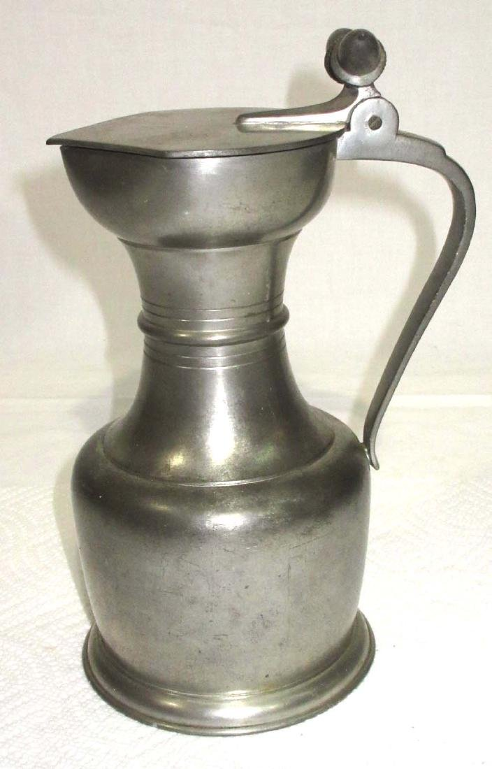 Early Royal Holland Pewter Pitcher