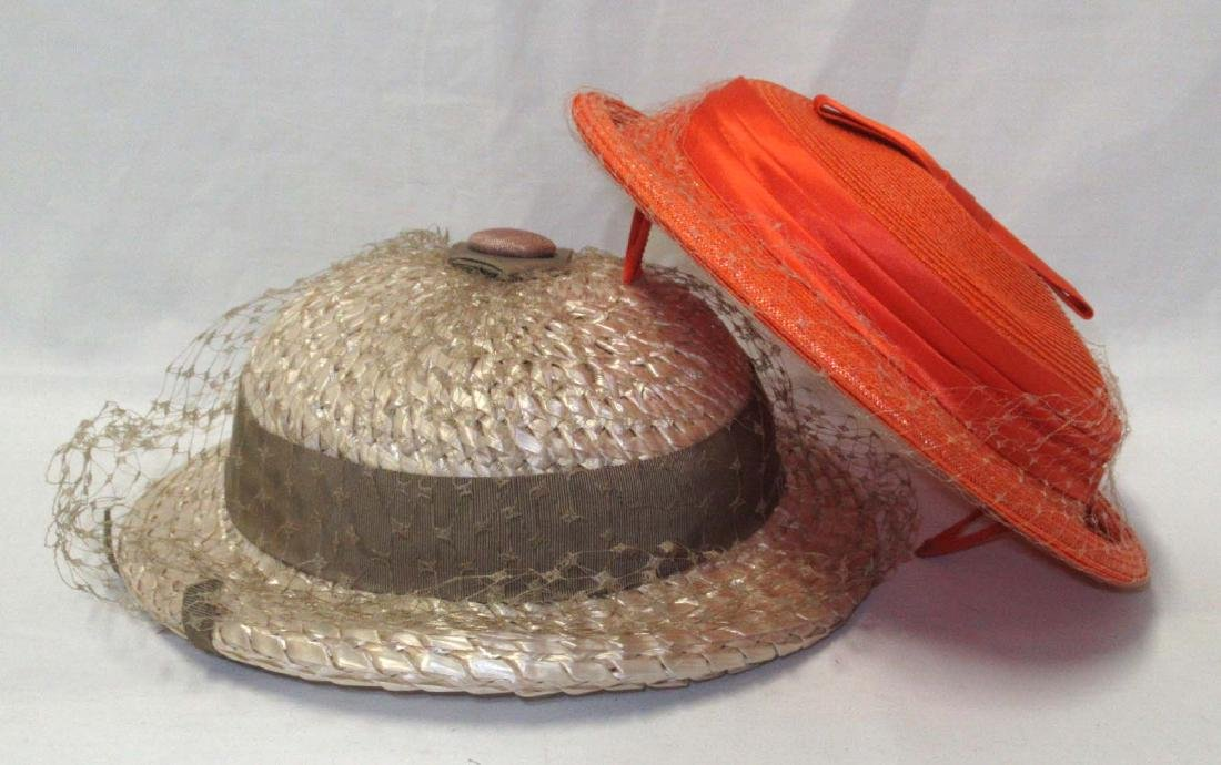 2 Cute Spring Straw Hat's