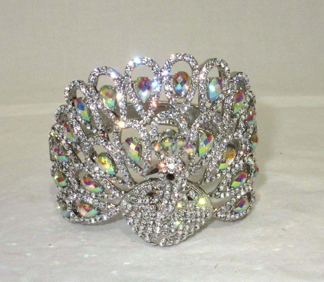Modern Costume Peacock Bracelet