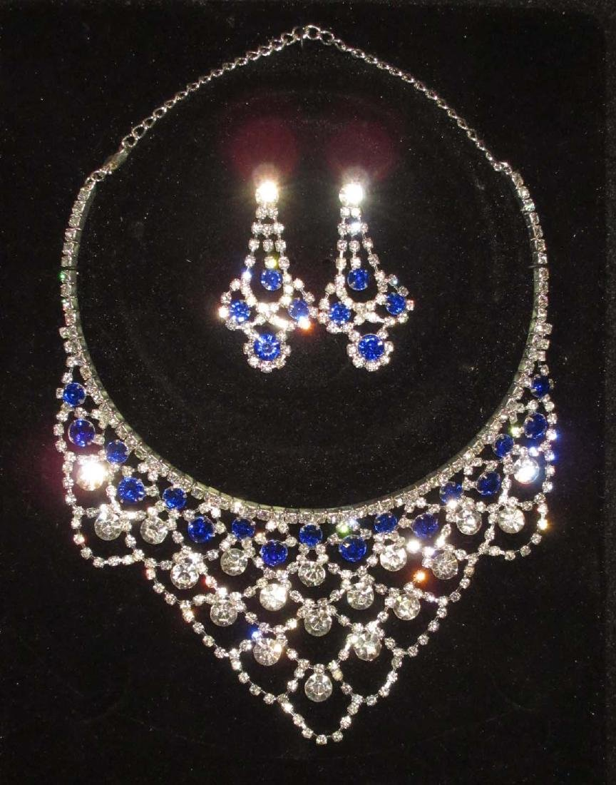 Modern Costume Necklace & Earrings
