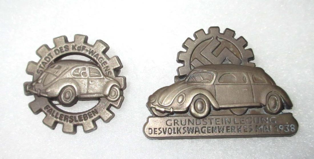 2 Modern German VW Pins