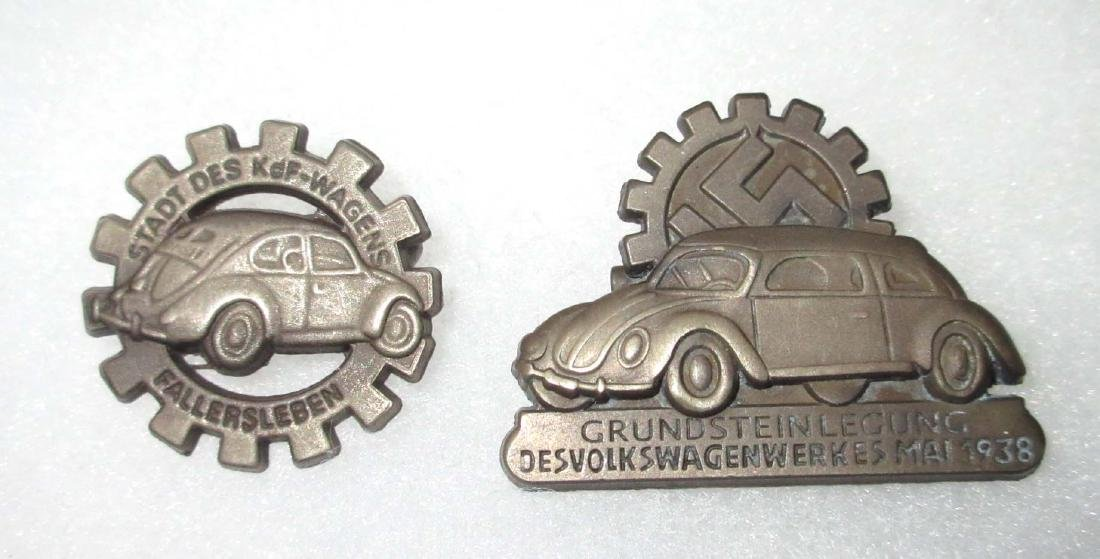 2 Modern German VW Pins