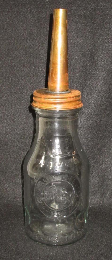 Modern Glass Dover Oil Bottle