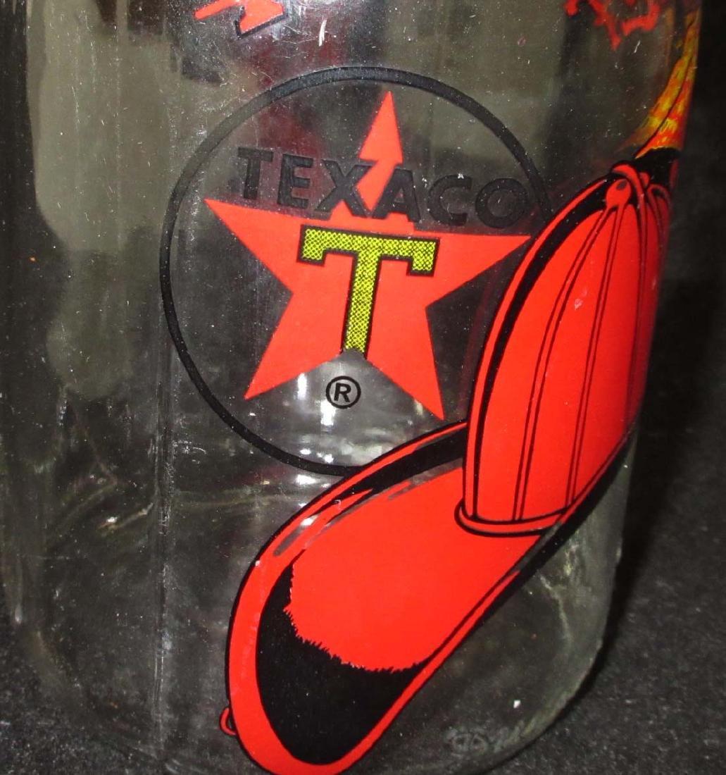 Modern Glass Texaco Fire Chief Oil Bottle - 2
