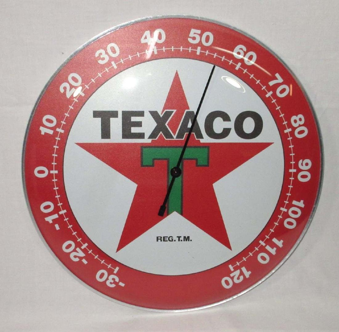 Modern Texaco Thermometer