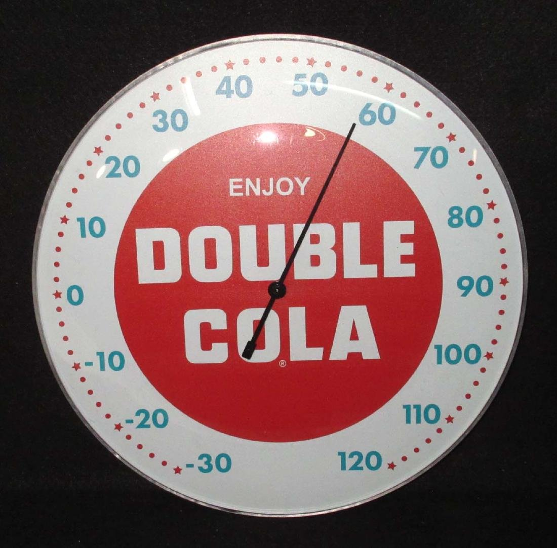 Modern Double Cola Thermometer