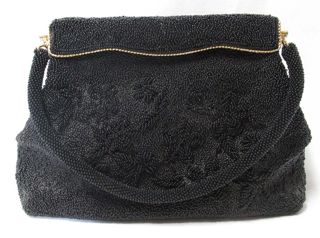 1930's Hand Beaded Elegant Handbag