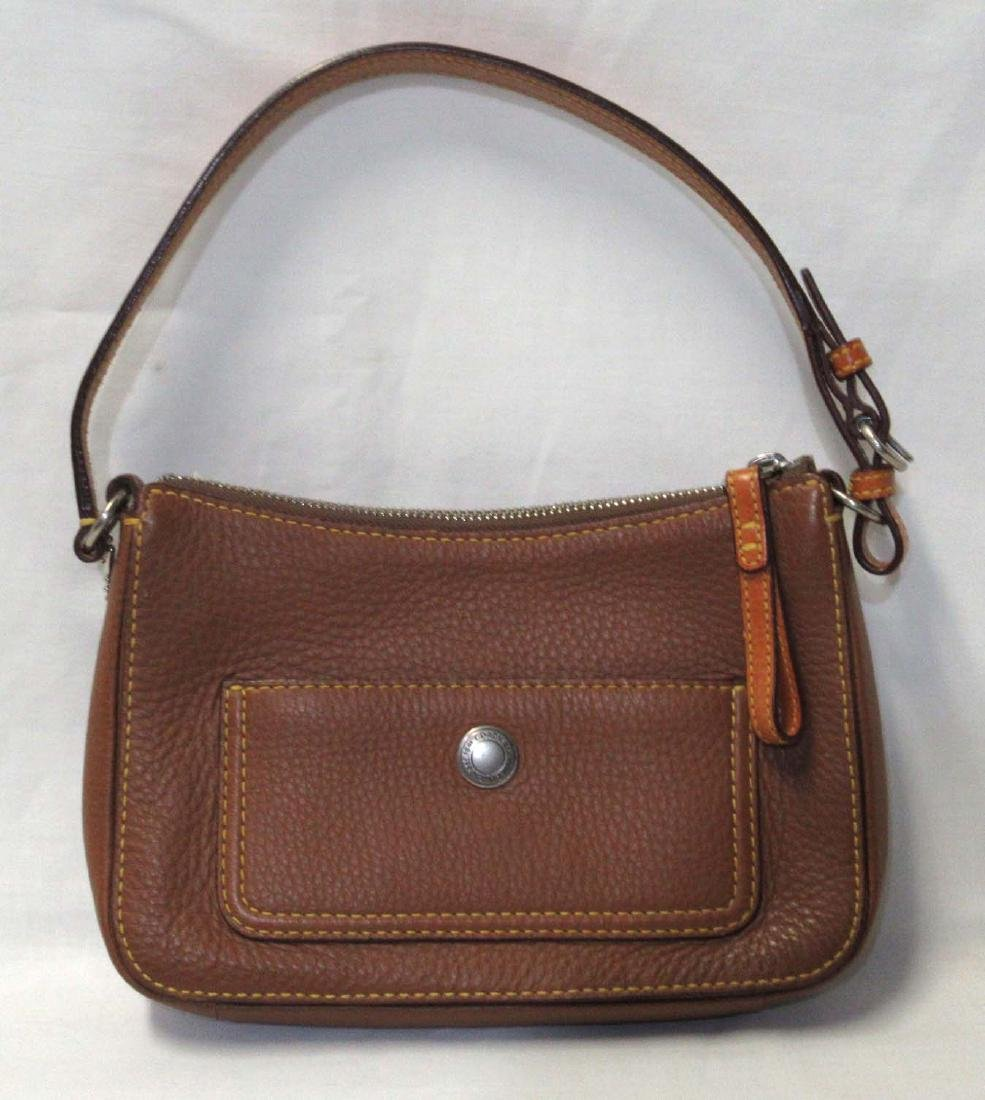 Small Tan Coach Tote, Coach Card Inside