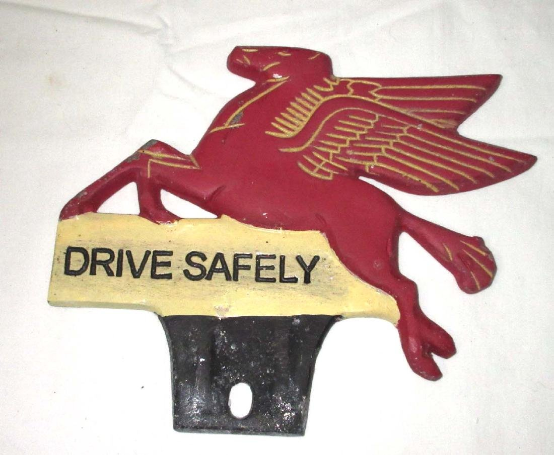 Modern Mobile License Plate Topper