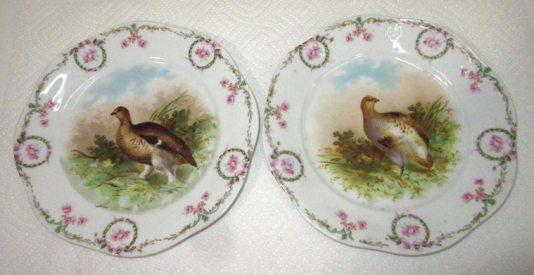 5pc H.P. Bird Plates - 3