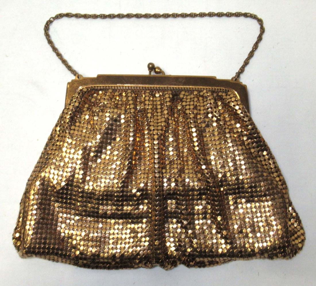 Whiting & Davis Gold Armor Mesh Evening Bag