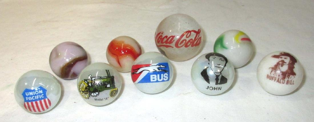 9 Advertising Marbles